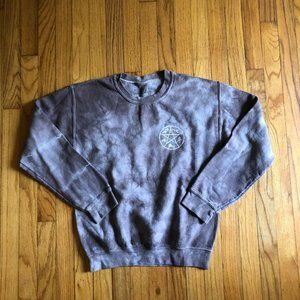 Supernatural Tie Dye Sweatshirt
